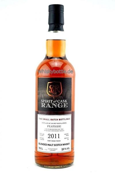 Peatside 6 Jahre 2011-2018 Port Wood Finish Spirit & Cask Range 50,0% vol.0,7l
