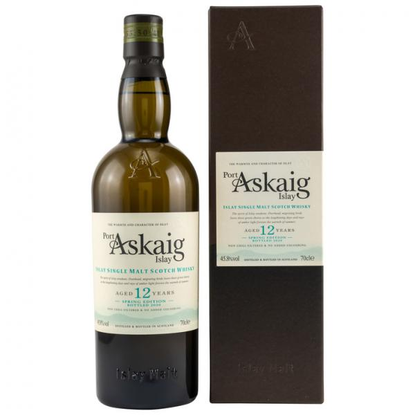 Port Askaig  12 Jahre Spring Edition 2007 - 2020 Islay Single Malt 45,8% vol. 0,7l