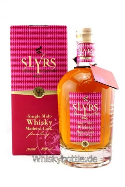Slyrs Single Malt Madeira Cask, Limited Edition 46,0% vol. 0,7l