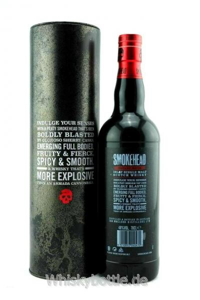 Smokehead Sherry Bomb Limited Edition  48,0% vol. 0,7l