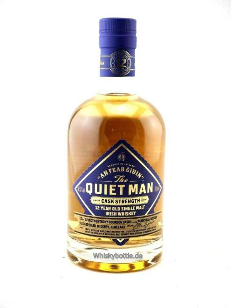 The Quiet Man 12 Jahre Irish Single Malt Cask Strength Edition  53,0% vol. 0,7l