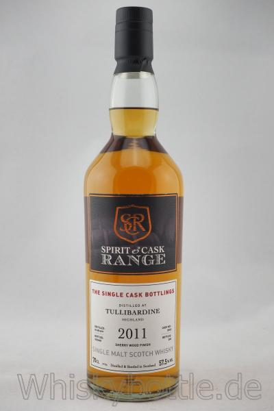 Tullibardine 2011/2018 Sherry Wood Finish Spirit & Cask Range 57,5% vol. 0,7l