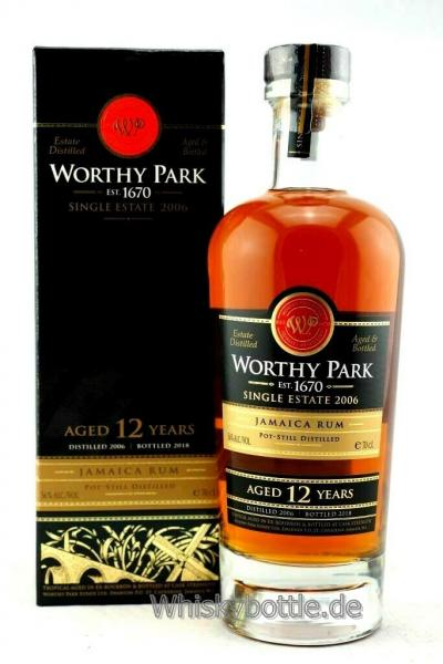 Worthy Park 12 Jahre 2006-2018 Single Estate